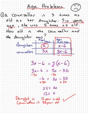 Difficult Quadratic Wordproblem Notes