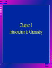 chapter1 - Intro to chemistry