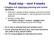 Chapter 4 Concepts - Contribution Margin & Estimating FC & VC(1)