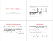 ReviewLinearAlgebra