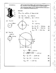 958_Mechanics Homework Mechanics of Materials Solution