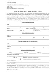QME appointment notification