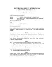 Surat Perjanjian Kerjasama Investasidoc Recovered Surat