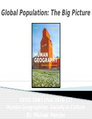 GEOG 1HA3 - Fall 2016 - Lecture 05 - Population I - Global Population - The Big Picture - student-A2