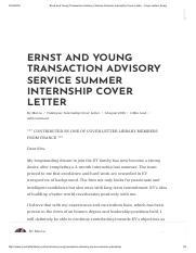 MORGAN STANLEY Cover Letter _ Internship _ Summer Analyst