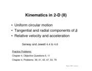 06-Kinematics in Two Dimensions (part 2)