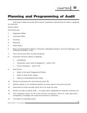 Basic Audit Programme