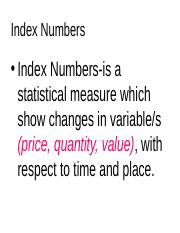 Index Numbers.ppt