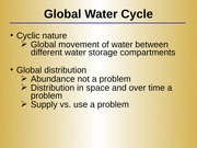 Lecture 3 - Water Resources(1)