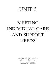UNIT 5 ASSIGNMENT Meeting Individual Care and Support Needs (Raemona).pdf