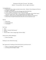 Module 3 Ethics Note Outline