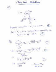 Class test solutions ED1 2015-16