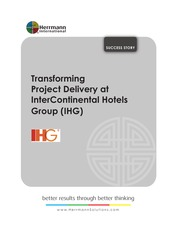 Transforming Project Delivery @ InterContinental Hotels Group