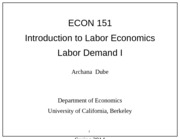 Econ 151 Lecture 5 Chapter 3-1