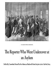 The Reporter Who Went Undercover at an Asylum | Literary Hub.pdf