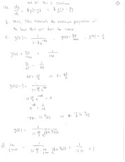 Old Test 3 Solutions