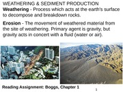 02_GEO316P_weathering&sed-production_Spring2015
