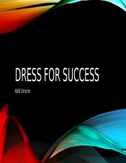 Dress for success activity PP.pptx