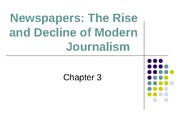 Introduction to Journalism (COMM 203) Lecture on Media Essentials_pp ch 3