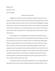 i believe english essay