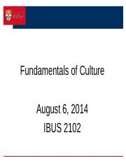 IBUS 2102 w2 Cultural Dimensions S2, 2014 to post
