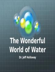 Wond World of Water