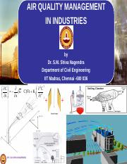 Air Quality Management in Industries by Shiva Nagendra
