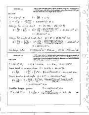228_Mechanics Homework Mechanics of Materials Solution
