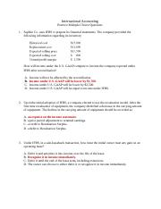 Practice Multiple Choice Questions (Answer Key)(1)