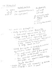 Week1_class_notes - Newton's 2nd Law