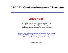 CBC 722-5 Semiconductor nanocrystal