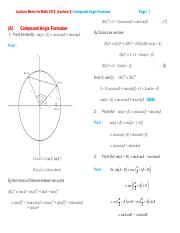 Lecture Notes for Math 1012 (Lecture 2) Compound Angle Formulae.pdf