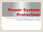 Power System Protection lesson #1 - 2014 (1).pptx