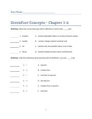 GreenFoot Concepts Ch1-6