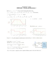 Homework 7 and 8 Solution