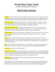 Study Guide - Native American.doc