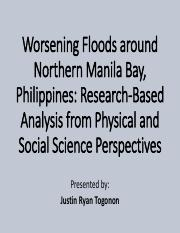 [9]Worsening Floods around Northern Manila Bay, Philippines