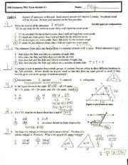 math midterm Math 34b - midterm solutions february 8, 2008 1 integrate (a) z 1 0 (3.