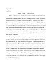 Lord of the Flies Essay.docx
