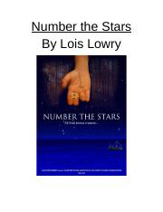 Number the Stars Unit (Original).docx
