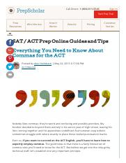 Everything You Need to Know About Commas for the ACT.pdf