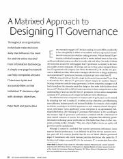 Weill IT governance 1