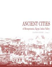 Group 1 - Ancient Cities