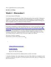 BUS 303 Week 2 Discussion 1.docx