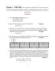 Exam 2 ChE 394 - Solution Key.pdf