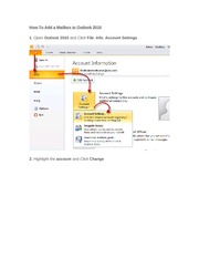 How-To Add a Mailbox to Outlook 2010