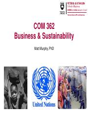 COM 362_Sustainability_Slides_Session 9_Human Rights_1_2016