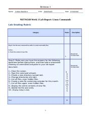 NETW240_Beckford_Wk2_Report
