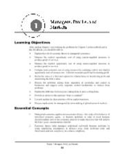 Managerial economics.Chapter1.Student Workbook