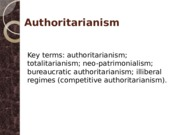 08 - Authoritarianism
